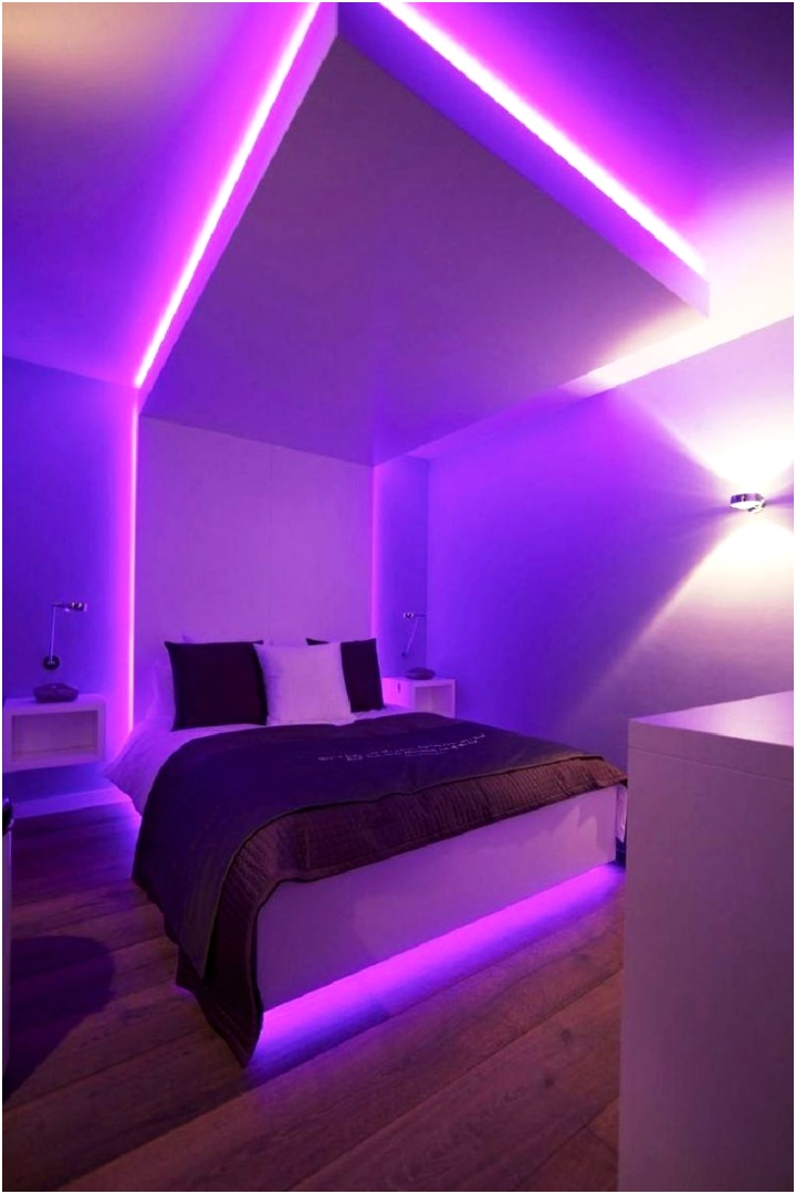 Best DIY Projects Ideas for LED Lighting Bedroom Benefit of LED Lighting 11
