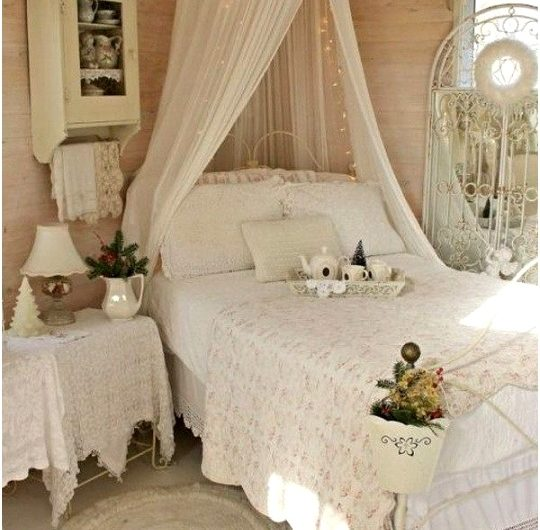Country Chic Bedroom Decorating Ideas