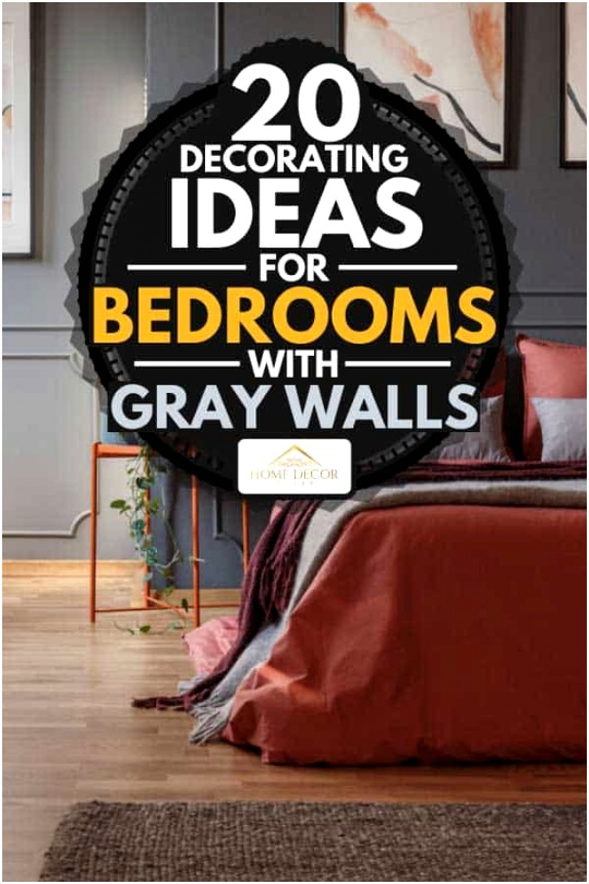 20 Decorating Ideas For Bedrooms With Gray Walls