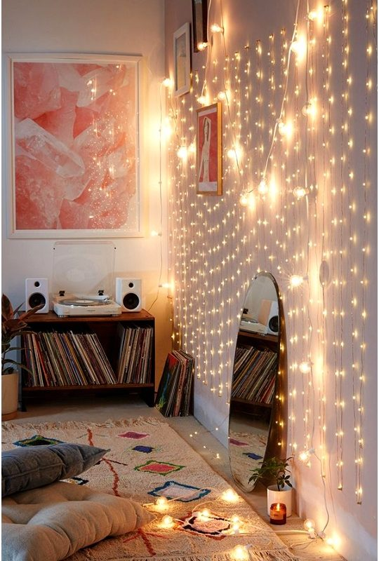 Diy Bedroom Lighting Ideas Nydkda Beautiful How to Light Your Room with Christmas Lights College Fashion540810boyt