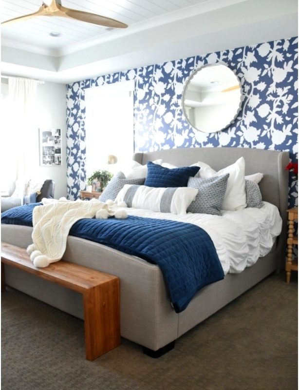 Ideas for Master Bedroom Decor Njboeh Awesome Beautiful Blue Bedroom Decor Ideas614921fklm
