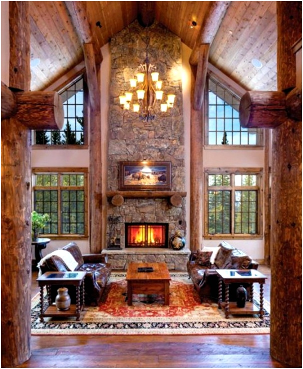 19 log cabin home decor ideas pertaining to inspirational cabin bedroom decorating ideas