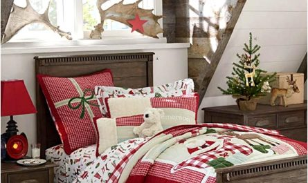 Pottery Barn Bedroom Decorating Ideas Otieee Best Of 39 Trendy & Cozy Christmas Bedroom Decorating Ideas10171338gilu