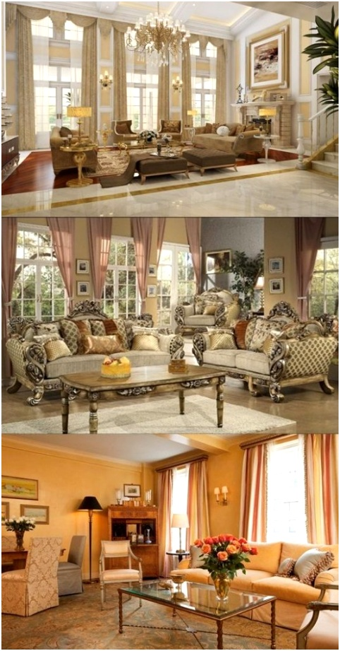 Victorian Living Room Curtain Ideas – Victorian Style 536x1024