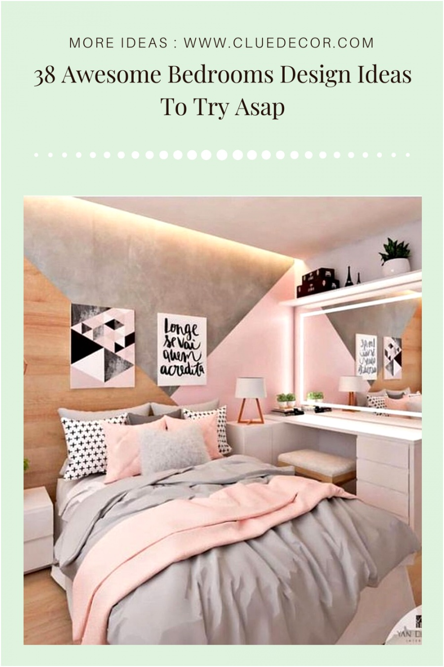 38 Awesome Bedrooms Design Ideas To Try Asap