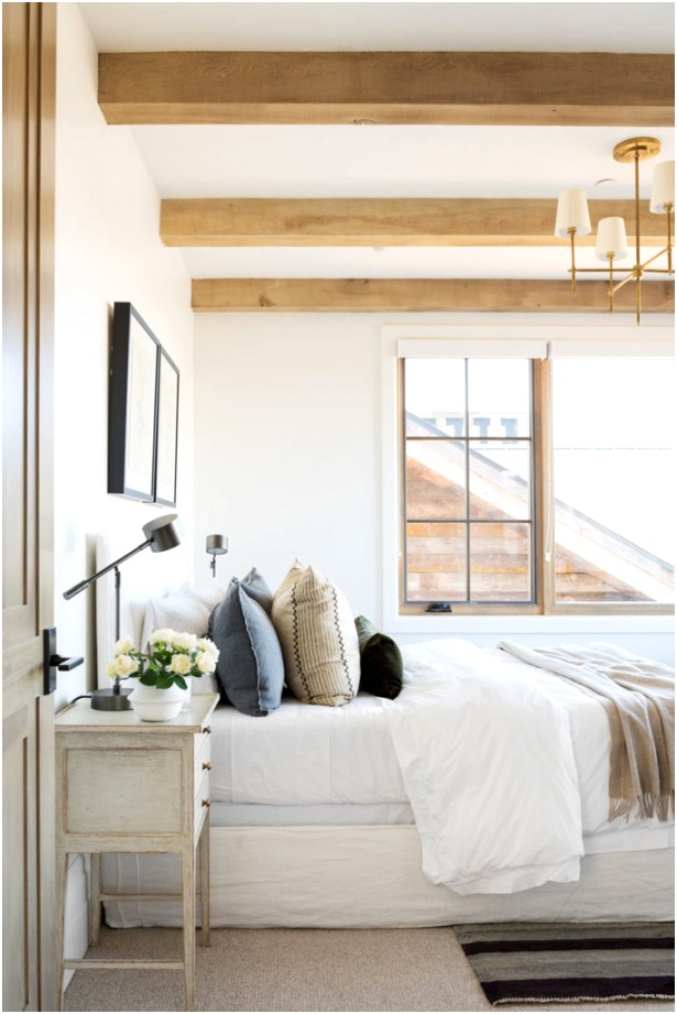 Warm and inviting guest bedroom idea from Studio McGee