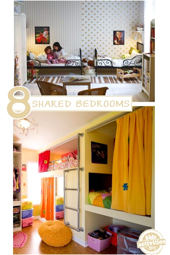 8 shared bedroom ideas for boys and girls