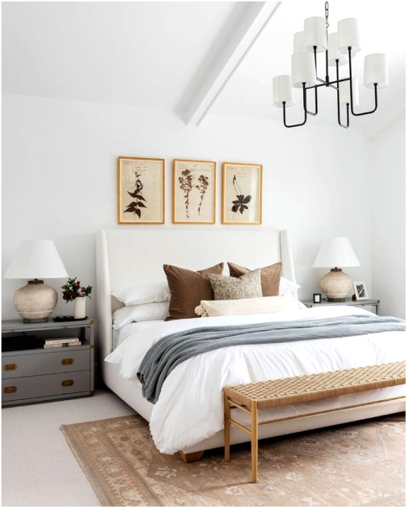 embrace earth tones feng shui bedroom