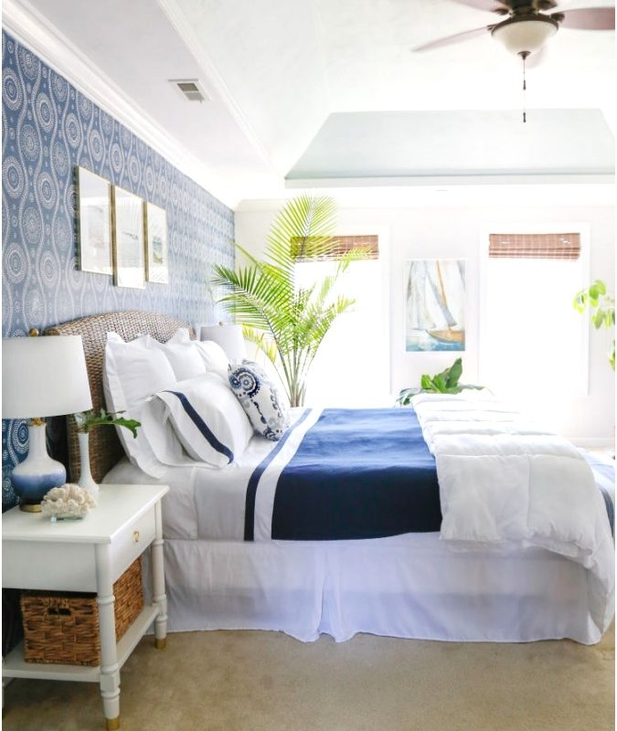 Blue Bedroom Ideas Epmelu Fresh Coastal Blues Master Bedroom Makeover Sand and Sisal675844rgac