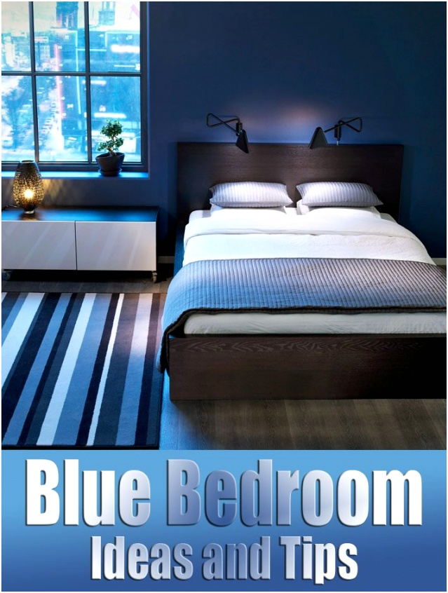 Blue Bedroom Ideas and Tips 17 710x941