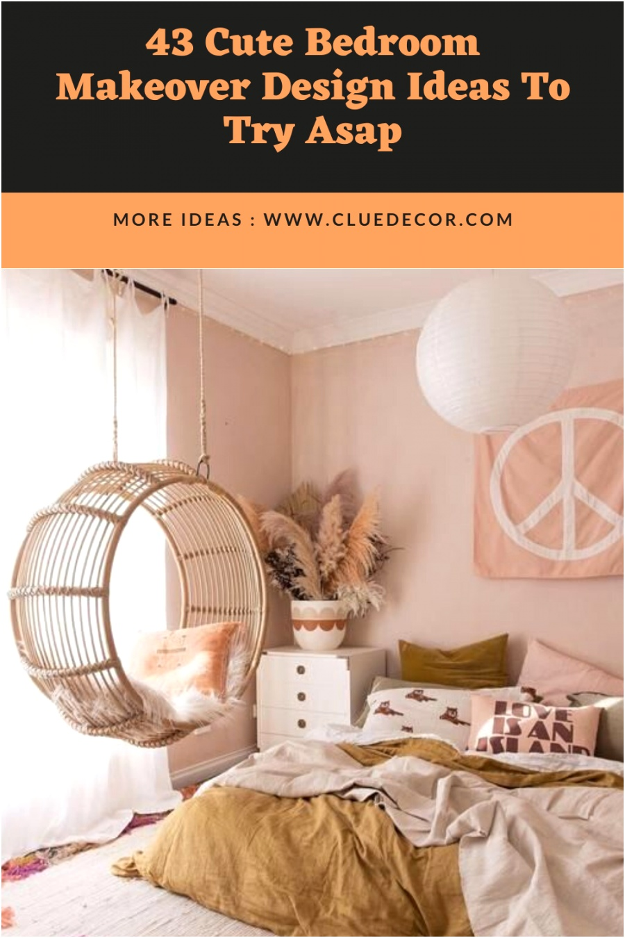 43 Cute Bedroom Makeover Design Ideas To Try Asap