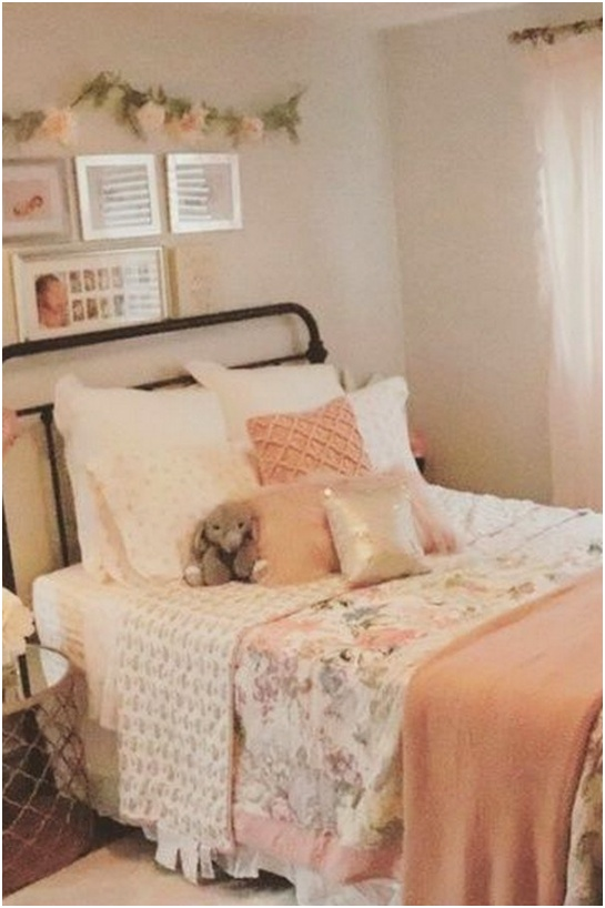 65 Cute Girls Bedroom Ideas for Small Rooms 41