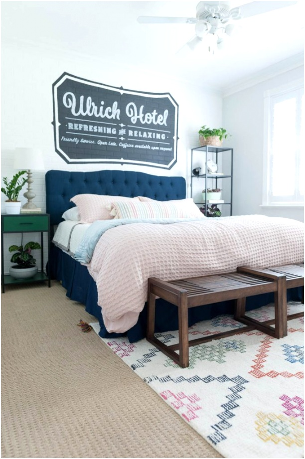 Guest Bedroom Decor and Bedding Ideas 26 681x1024
