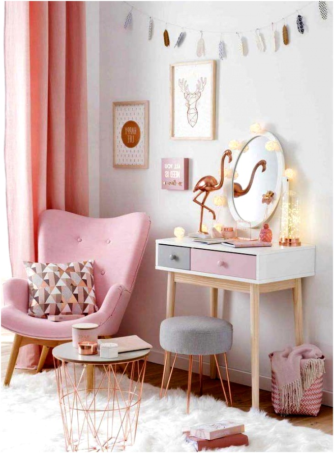 65 Young Teenage Girl Bedroom Ideas Pretty In Pink Bedroom Palette