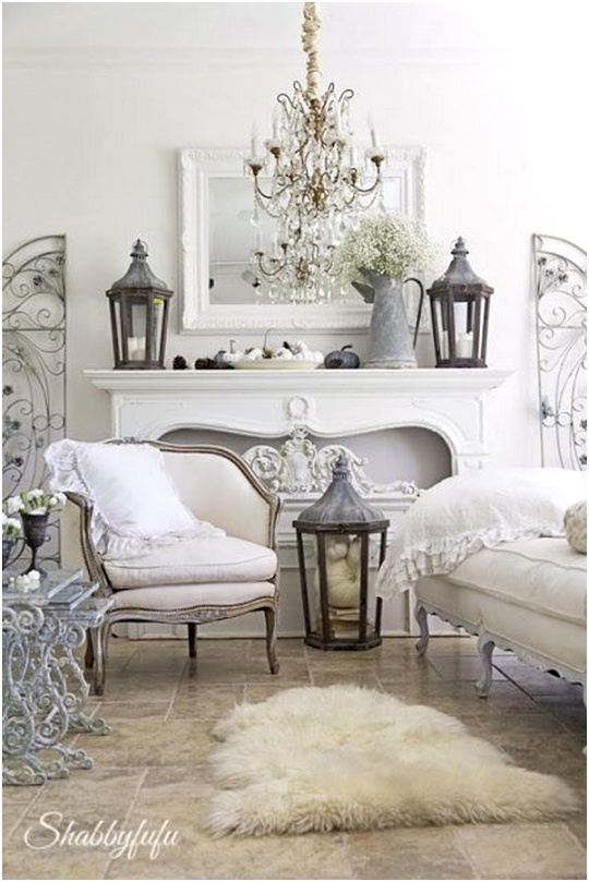 31 romantic shabby chic living room ideas