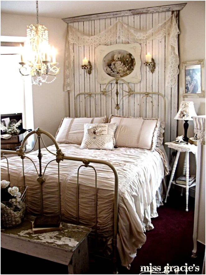 35 shabby chic bedroom design decor ideas homebnc