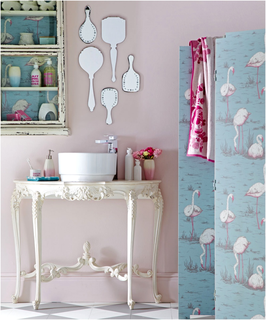 shabby chic bathroom shabby chic mirrors