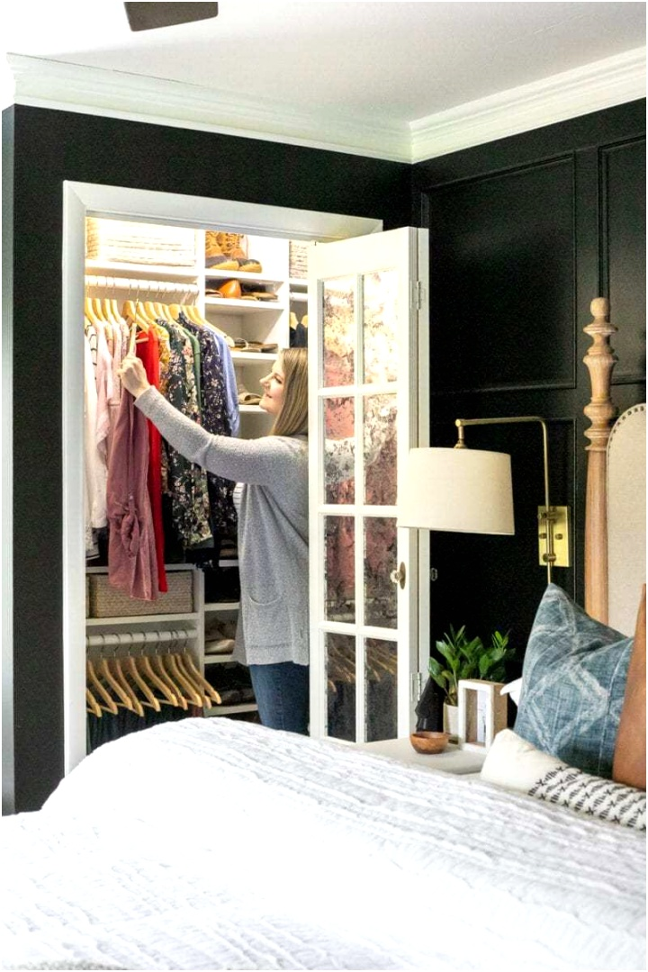 small ikea closet makeover 6 of 12 1 scaled
