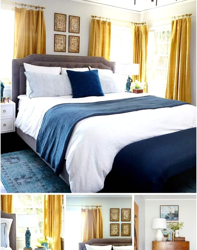 Yellow Bedroom Ideas Tmsulu Inspirational Bedroom Decorating Ideas Blue and Yellow6301082buit